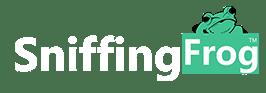 Sniffing Frog Logo